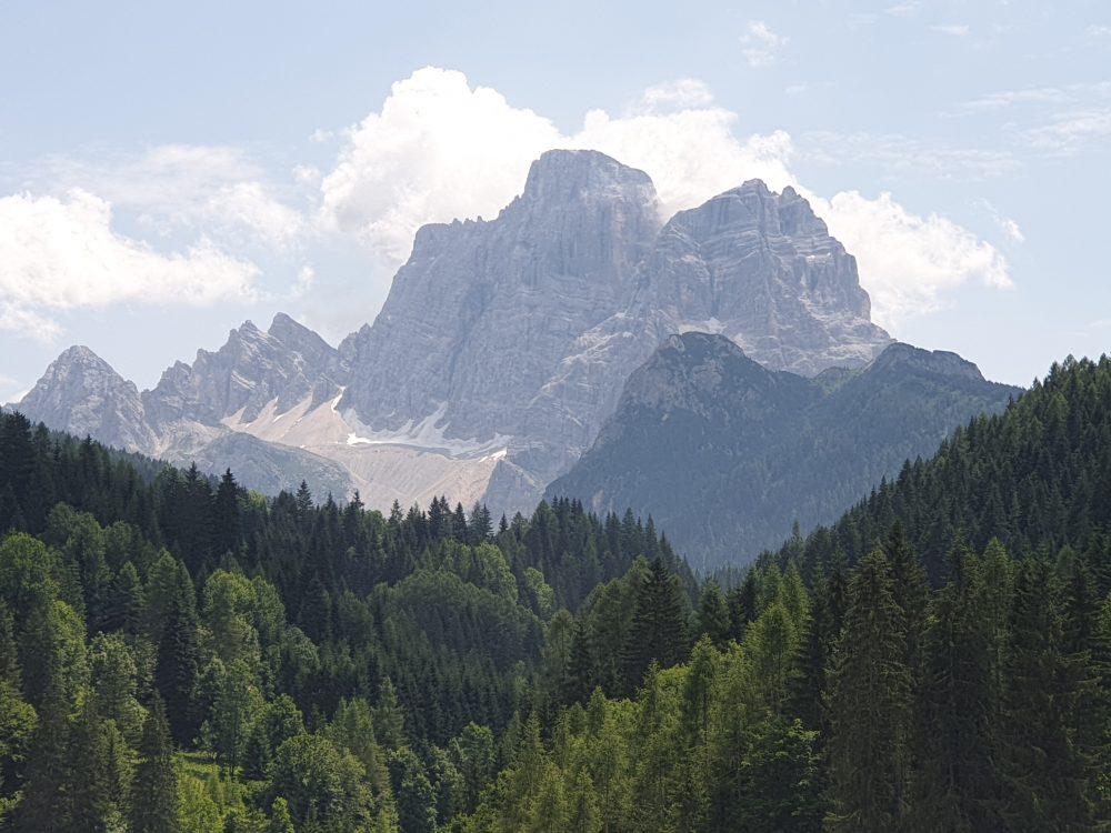 Blick Richtung Monte Civetta