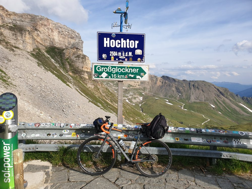 Hochtor-höchster Punkt der Glocknerstraße